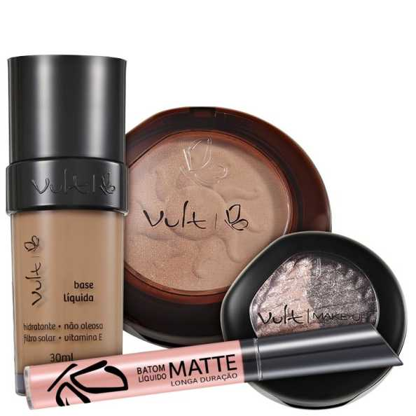Vult Make Up Duo Soleil Baked 01 Kit (4 Produtos)