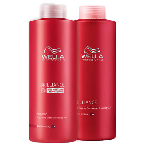Wella Professionals Brilliance Duo Kit Litro (2 Produtos)