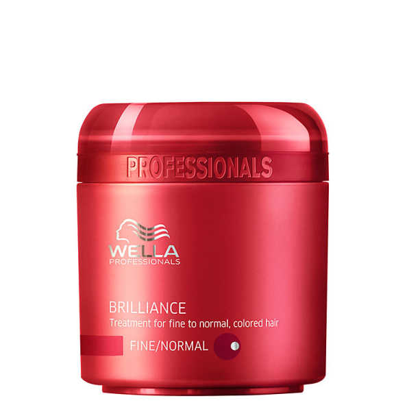 Wella Professionals Brilliance Mask Cabelo Normal a Fino - Máscara de Tratamento 150ml