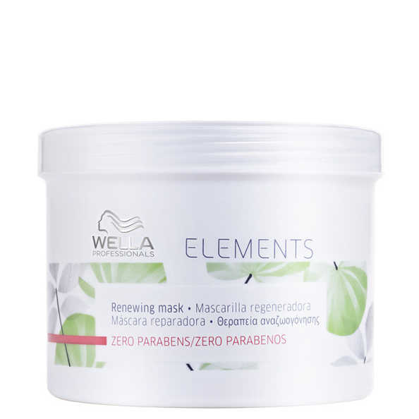 Wella Professionals Elements Renewing Mask - Máscara de Tratamento 500ml