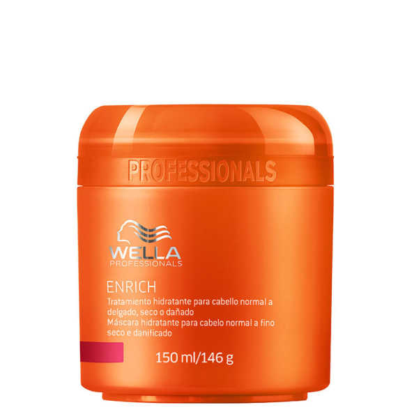Wella Professionals Enrich Moisturizing Treatment for Fine to Normal Hair - Tratamento 150ml