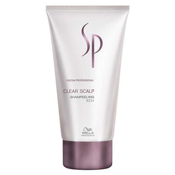 SP System Professional Clear Scalp Shampeeling - Shampoo Tratamento 150ml