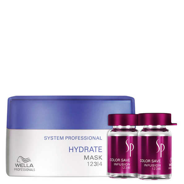 SP System Professional Hydrate Color Save Kit (2 Produtos)