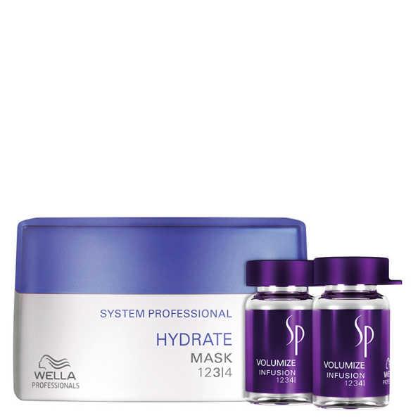 SP System Professional Hydrate Volumize Kit (2 Produtos)