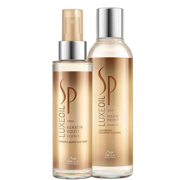 SP System Professional Luxe Oil Keratin Duo Kit (2 Produtos)