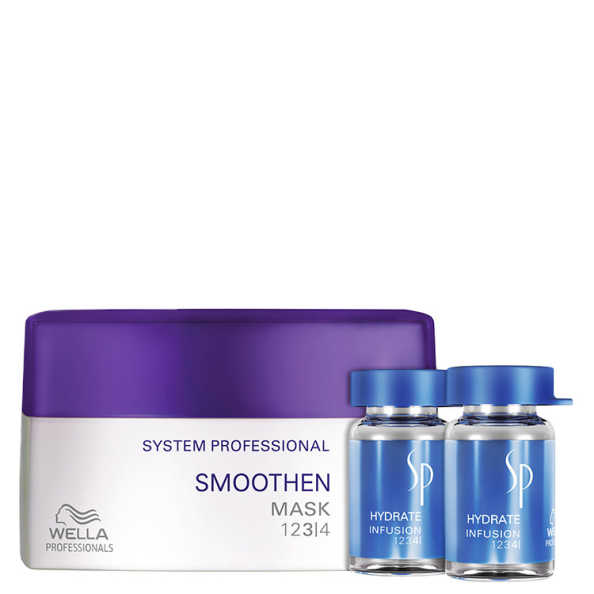 SP System Professional Smoothen Hydrate Kit (2 Produtos)