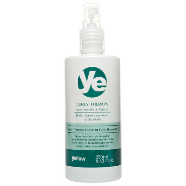 Yellow Curly Therapy Leave In Curls Humidifier - Umidificador de Cachos 250ml