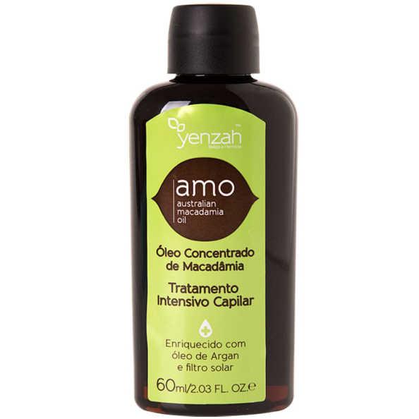 Yenzah Amo Australian Macadamia Oil Tratamento Intensivo Capilar - Óleo de Tratamento 60ml