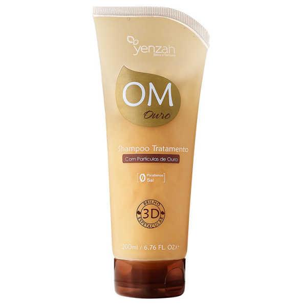 Yenzah OM Ouro Tratamento - Shampoo 200ml