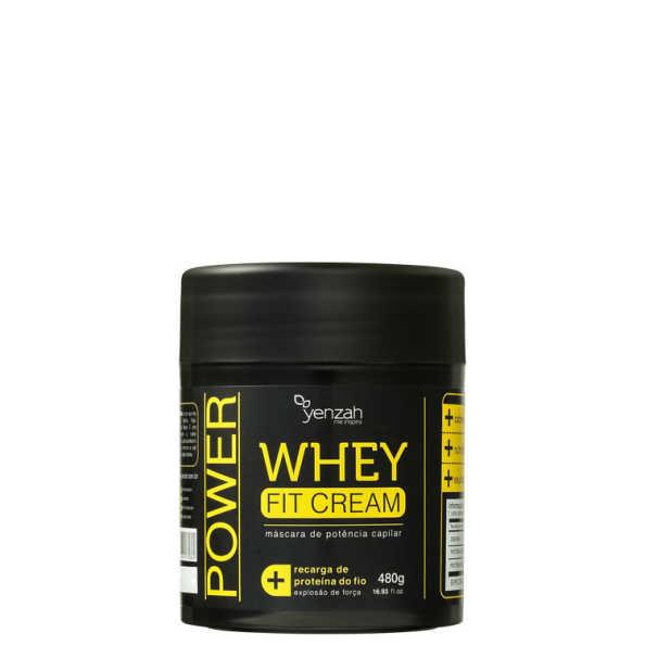Yenzah Power Whey Fit Cream - Máscara de Tratamento 480g