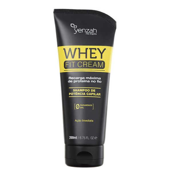 Yenzah Power Whey Fit Cream Potência Capilar - Shampoo 200g