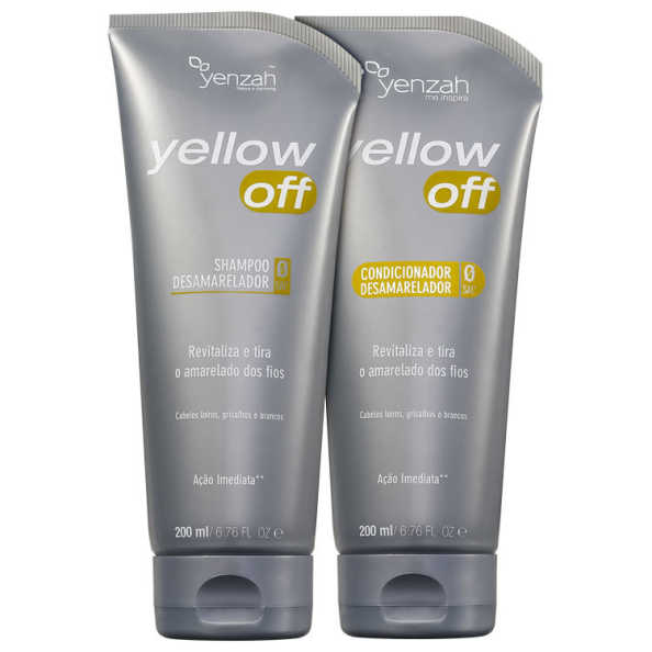 Yenzah Yellow Off Duo Kit (2 Produtos)