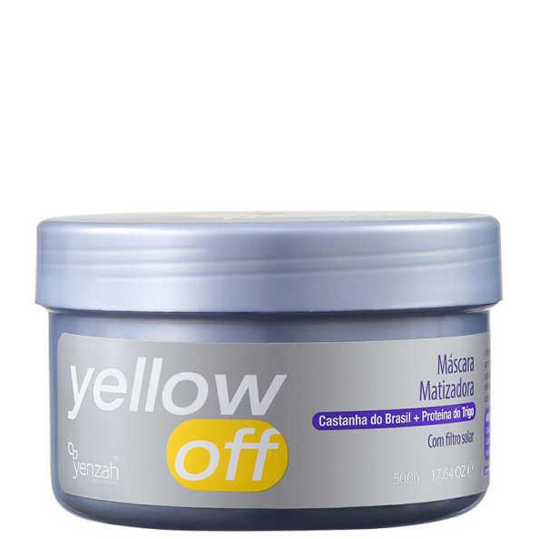 Yenzah Yellow Off – Máscara Matizadora 500g